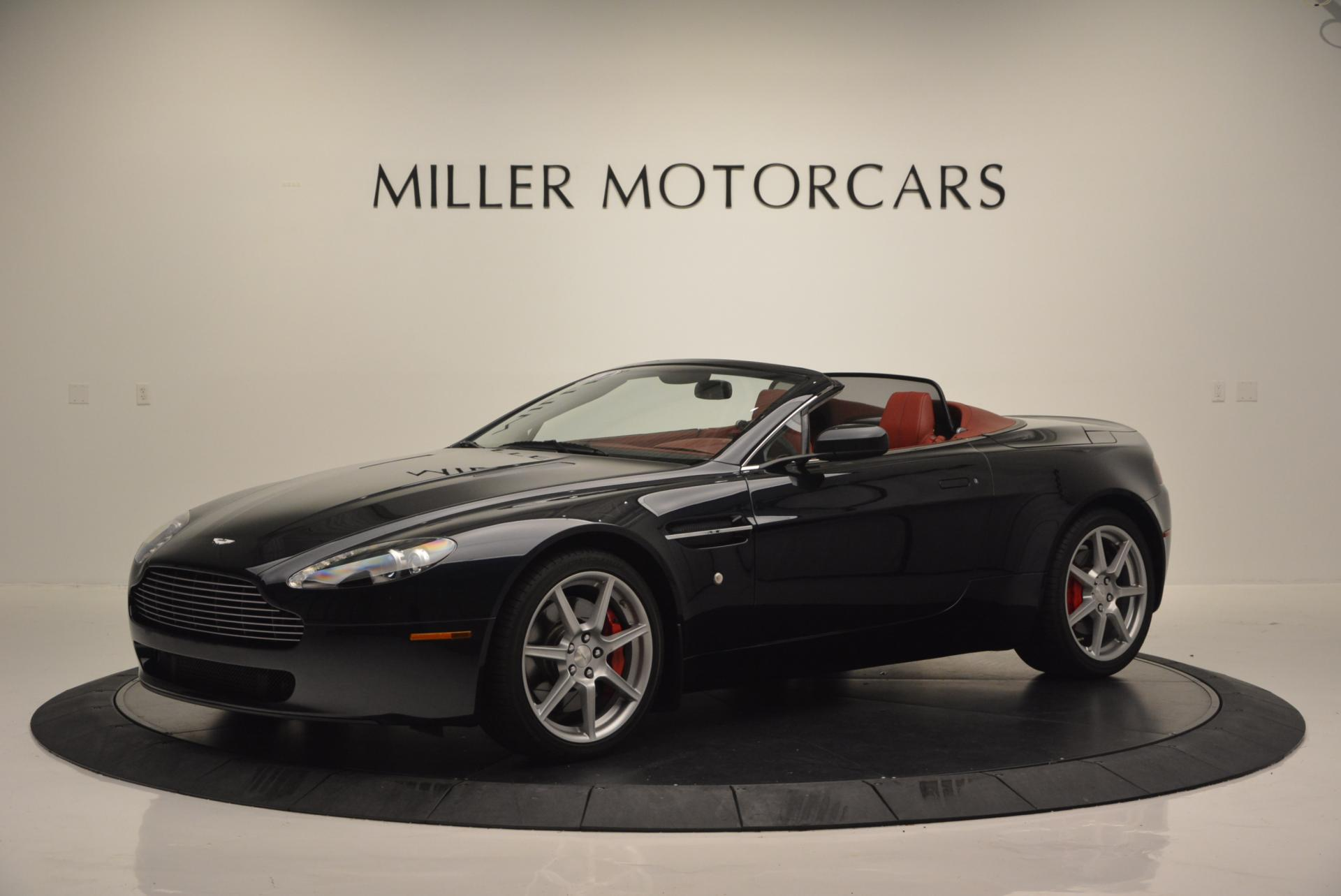 Pre Owned 2008 Aston Martin V8 Vantage Roadster For Sale Miller Motorcars Stock 7038