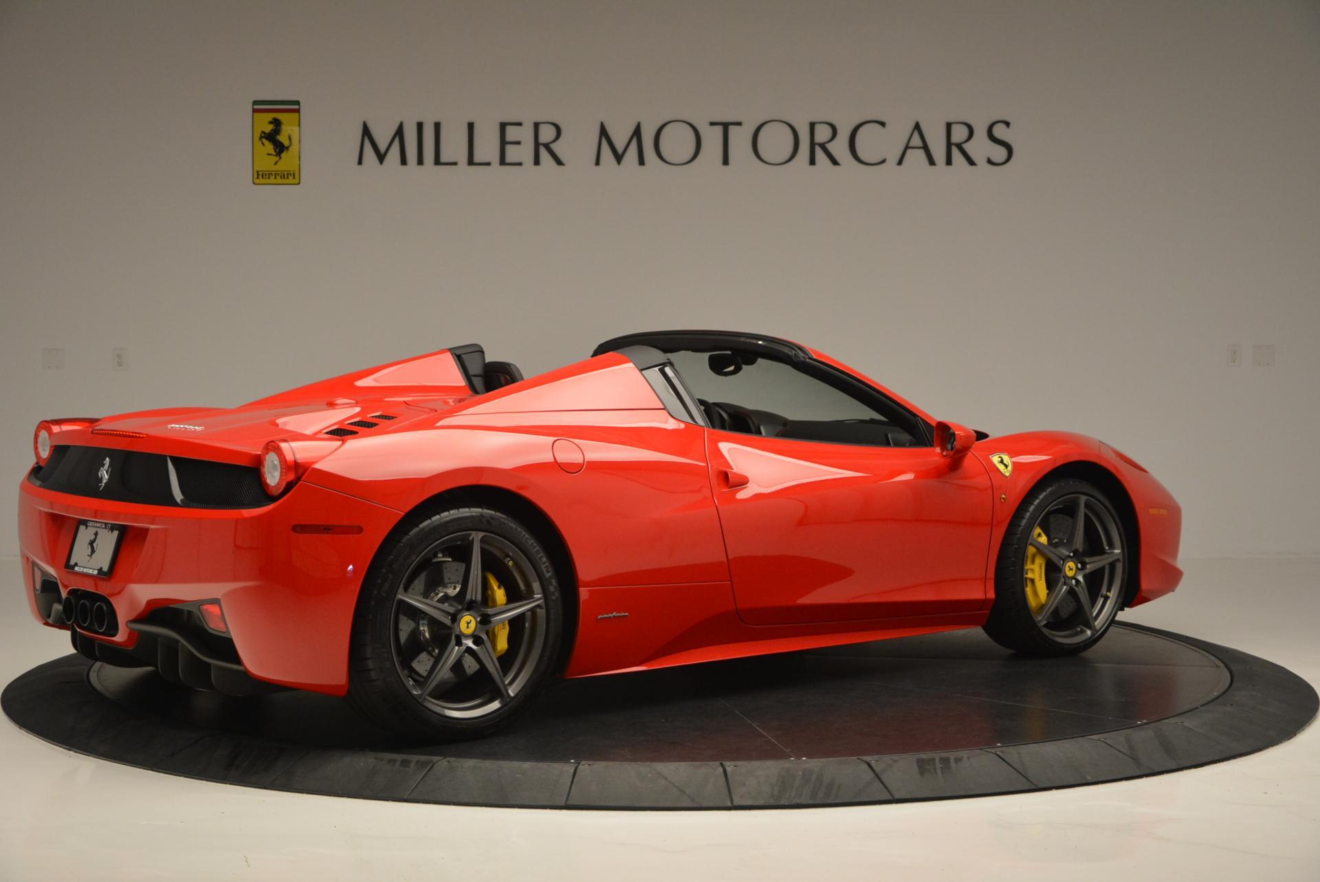 Pre Owned 2015 Ferrari 458 Spider For Sale Miller Motorcars Stock 4335