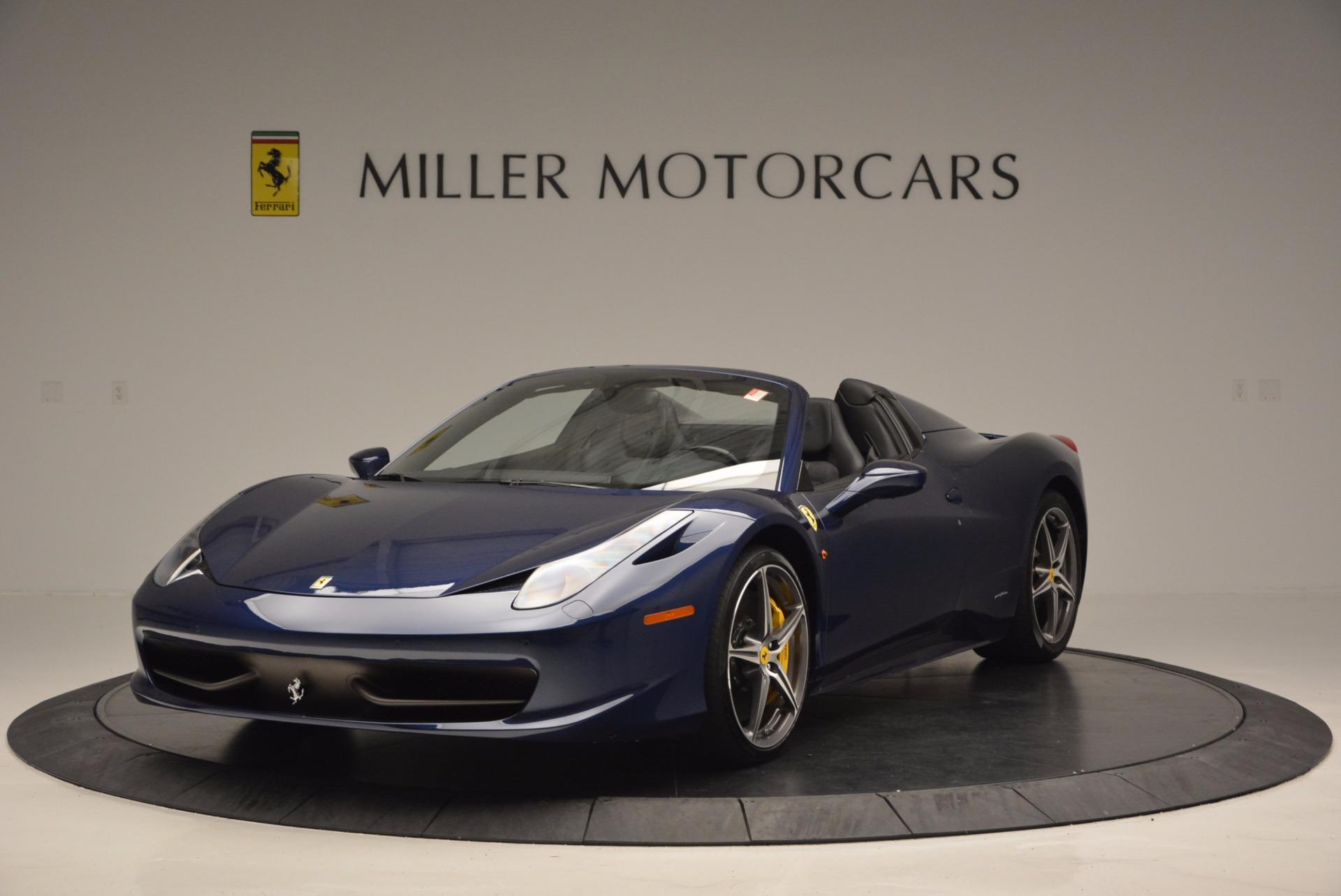 Used 2014 Ferrari 458 Spider For Sale Miller Motorcars