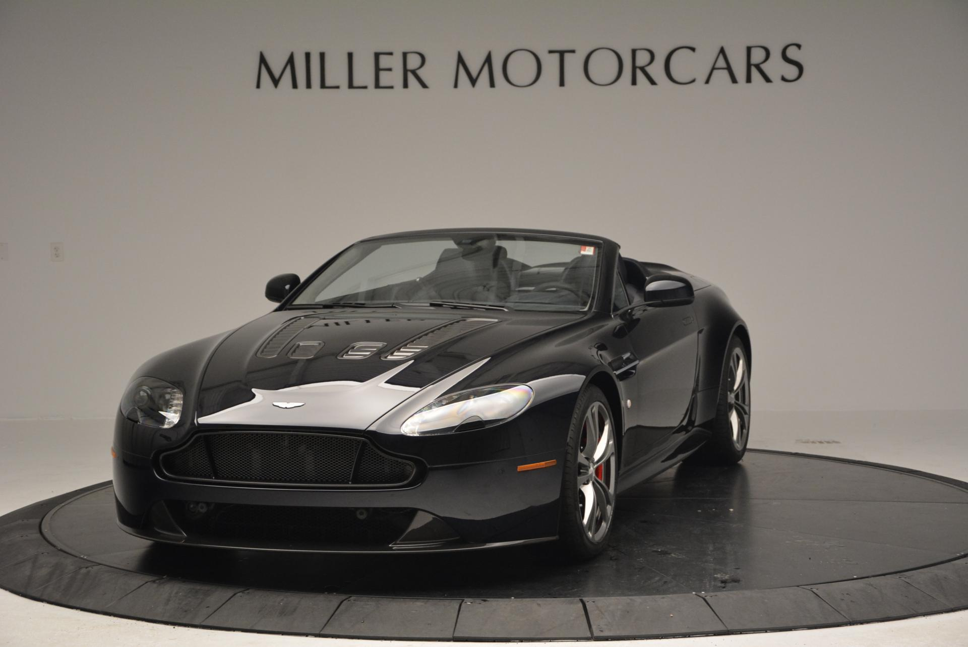 Pre Owned 2016 Aston Martin V12 Vantage S Convertible For Sale Miller Motorcars Stock 7579