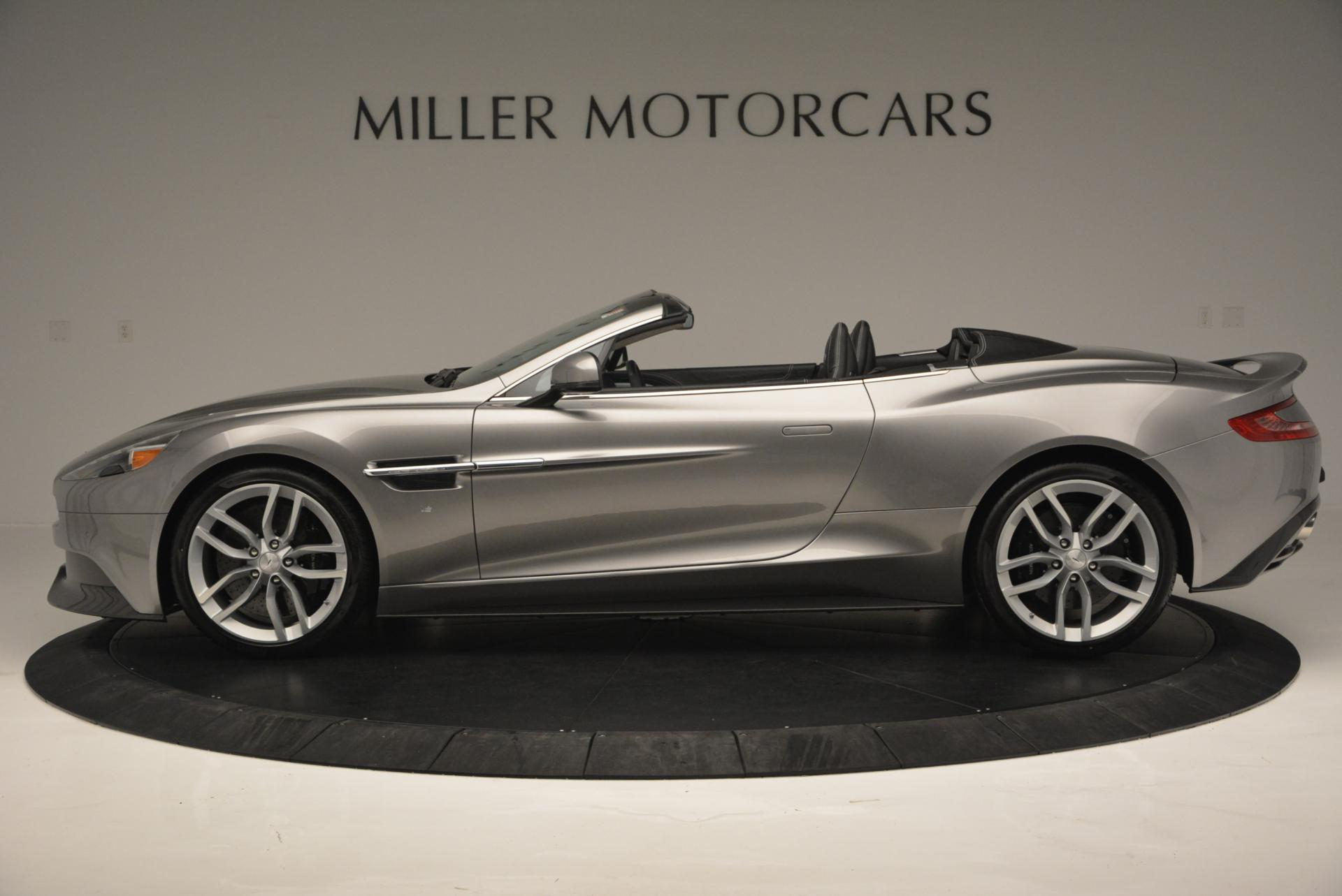 Pre Owned 2016 Aston Martin Vanquish Convertible For Sale 335 611 Miller Motorcars Stock A1352a