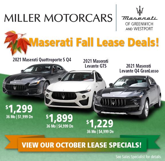 Maserati Lease Special
